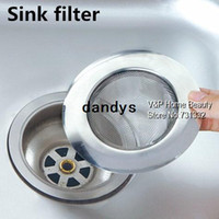 Wholesale Stainless steel sink filter Linear basin Filter sink drain cover banco strainer bathroom Kitchen accessories dandys