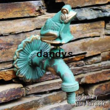 TB9041 2# Decorative Outdoor Faucet Rural Animal Shape Garden Bibcock With  Antique Bronze Frog Tap For Garden Washing, Dandys Bibcock Tap Tap Faucet  Tap For ...