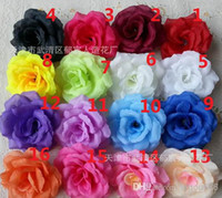 Wholesale High Quality cm Artificial Silk Rose Flower Head for Wedding Home Decoration r FH91702