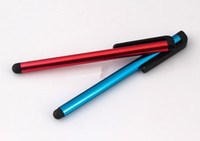 Wholesale 200pcs Capacitive Stylus Pen Touch Screen Pen For ipad Phone iPhone S S Samsung S3 S4 S5 i9600 Tablet