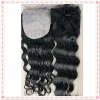 "Brazilian Hair Natural Color Body Wave Top quality silk base closure!4""x4""Virgin brazilian hair silk base top closure with hidden knots natural hairline free shipping"