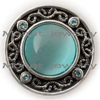 Wholesale A09559 noosa artifical cateye women jewelry summer jewelry accessories