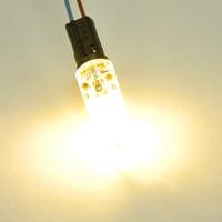 aluminum angle - 10pcs SMD3014 leds DC12V Aluminum LED Crystal Bulbs Beam Angle G4 LED Lamp Lighting Bulbs CE amp RoHS Approved worlduniqueen