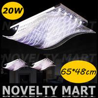 Wholesale 2014 Modern Fashion Crystal Ceiling Light V W LED Ceiling Lamp Living Dining Room Hotel Chandeliers Lighting Free Fedex DHL