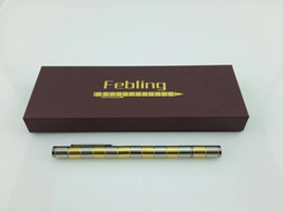 Wholesale hot selling Polar Pen Magnetic Pen Gloden Silver Colors Modular Pen Made from MAGNETS Touch Pen Arikes polar pens DHL Free
