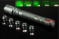 No 10w laser - 2014 newest green laser pointer MW w adjustable burn black match with battery and charger and laser heads