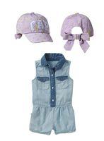 Wholesale 2014 New Baby Girls Summer sets 2pcs set one- piece...