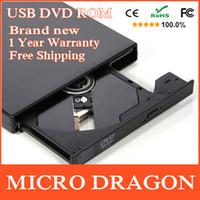 Wholesale Drop Shipping USB External DVD ROM Drive USB DVD CD Drive Optical Drive External Player DVD Reader
