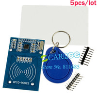 Wholesale 5pcs Antenna RC522 Card Read RFID Proximity Reader Module Drop shipping TK0621