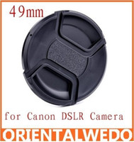 Wholesale 10pcs Univeral mm Center Pinch Snap on Front Lens Cap DSLR Camera