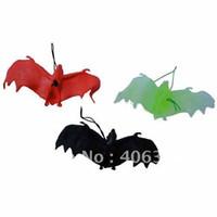 2-4 Years halloween bat - Halloween bat toy Practical Jokes toy bat models Education toys cm several colours