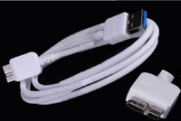 100cm For Samsung  Promotion 1M 3FT usb 3.0 cable Micro USB Sync Data Charging Charger Cable Cord For Samsung Galaxy S5 Note 3 Note III N9000 N9005 White black