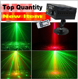 16 Pattern Color 3W LED DJ Laser Stage Light Show Projector Red & Green AC 100-240V Washer Light For KTV BAR PARTY Use