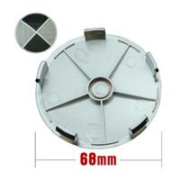 hub caps - Carbon fiber hub cap wheel cap mm Badge Emblem with Retail box