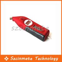 Wholesale Solar Tire Gauge Tyre Pressure Meter LCD Display Digital High Accuracy Red