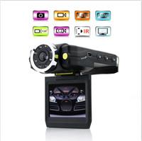 Wholesale HOT F5000 Full HD P Car DVR Camera Recording LED Infrared Night Vision Car Black Box top sale Free Ship
