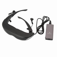 Wholesale Newest Inch iTheater D Video Glasses Virtual Screen Side By Side AV In For iPhone MP5 TV Multimedia Player HD P iMaxsight HD920X