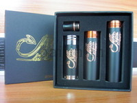 Wholesale Newest black Stingray Mechanical Mod Rebuildable mechanical mod Copper Tube Battery Body Suitable for e cigarette