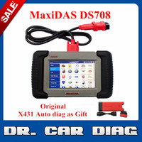 Wholesale Authorized Distributor Best price Original Autel Maxidas DS708 DS Universal Diagnostic Scanner Multi LanguageAutel MaxiDAS DS708