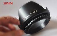 canon lens - Flower Petal mm Camera Lens Hood For Canon mm mm mm mm T4I D Lens