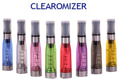 Factory Big Promotion! 2013 Hottest Electronic Cigarette atomizer 1.6ml ego t ce4 Cartomizer, E-cigarette Clear clearomizer