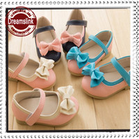 Wholesale 2014 Hot Summer Girl shoes princess PU leather shoes Kids Sandals Baby footwear Party Wear Holiday shoes colors