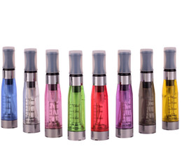 Electronic Cigarette Atomizer eGo CE4 Clearomizer E-cigarette Cartomizer 1.6ml for eGo-T, eGo-C, eGo-W 8colors to choose