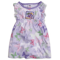 TuTu Summer Straight 2014 New Arrival Summer Children Girls Peppa Pig Sleeveless Cotton China Wind Butterfly Image Dresses Kids' Tops Clothing 5ps lot H1768