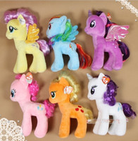 Unisex animal toys - my little pony plush stuff Cartoon plush Dolls Stuffed animals Toys Animals children s gift inch
