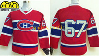 Wholesale Youth Canadiens Hockey Jerseys Red Pacioretty Ice Hockey Uniforms Name Logo Stitched Styles Newest Ice Hockey Jersey Kids Sportwear