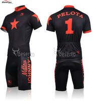 Wholesale Jonny s Bike Shop Team Novelty cycling jerseys Polyester Printed Contrast Armband Rear Zipped Valuables Pocket Bicycle Parts for Men