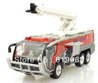 Metal   Alloy Car Models Toy Airport Fire Rescue Fire Truck Firetruck Sound And Light Construction Vehicles Pull Back Toy Car Models
