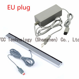 Wholesale 1PCS UK US EU AC Power Supply Power Adapter Charger Wired Infrared Ray Sensor Bar for remote