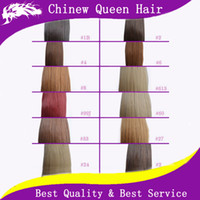 Brazilian Hair Black Straight 100g pack 18~24inch Remy Micro Ring Hair Extension 100% Indian Human Hair #1#2#4# 613# 27 More Color Choose Queen Hair Products