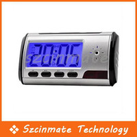 Wholesale Alarm Clock Shape Hidden Camera Wireless CCTV Mini DV DVR