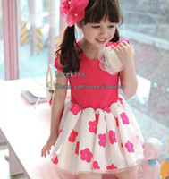 TuTu summer clothes for girls - Girl Dresses Kids Summer Dress Flower Dresses Princess Dress Childrens Clothing Dresses For Kids Child Dress Cute Children Clothes L29417