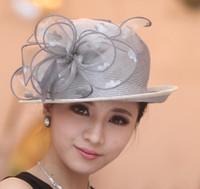 Wide Brim Hat straw hat fashion straw hat fedora straw hat - Women Summer Hat Women Hat Fashion Straw Hat Organza Flower Summer Hat Two Tone Color Fedora Cloche