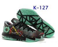 Hight Cut Men Spring and Fall KD VI 6 Easter Mens Basketball Shoes New Kevin Durant VI KD 6 Mens Basketball Shoes New Color Kd6 Sneakers Size 40-46 KD Men Rose Shoes