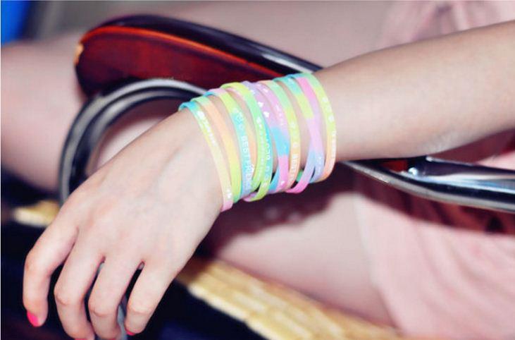 Как сделать силиконовый браслет