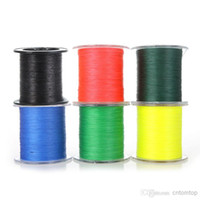 Wholesale Colors Fishing Line New M LB mm Braid Fishing Line Strong Braided Strands Equipment Gear H10469