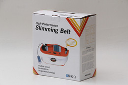 Wholesale YK advanced red heat slimming double motro shake belt heating massage blet