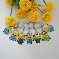 Wholesale Cute set Despicable Me Keychain Character Minions Figure Doll Toy