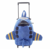 baby blue luggage - Wheeled Backpack Children Bags Boys Girls Luggage Bags Hiking Backpacks Fashion Bag Boy Girl Blue Bags Baby Bag Kids Bags Child Backpack