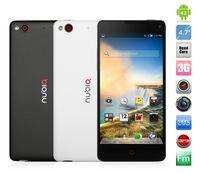 WCDMA Quad Core Android Free Shipping 2014 New Original ZTE Nubia Z5S Mini Quad Core phones 4.7 inch 1280x720 Snapdragon 600 1.7GHz 2GB RAM 16GB ROM 5+13MP 3G GPS W