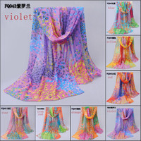 Wholesale chiffon scarves new shawls foulard scarves women peacock feathers pattern georgette scarf imitated silk fabric beach towel FQ043
