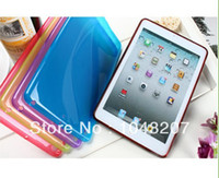 Wholesale HotSale Colorful Soft Silicone Matte Case Cover Skins for Apple iPad inch Tablet Accessories