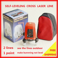 Wholesale AK435 degree Self leveling Cross Laser Level Red Line Point