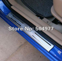 Wholesale Door sills sill plate scuff plate for Kia Rio stainless steel auto accessory