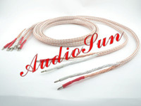 audiophile brand - Pair Kimber kable TC speaker cable audiophile speaker wires brand new M both Plated rhodium Banana