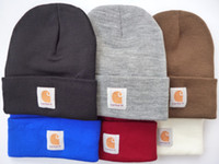 Free Shipping Fashion Hiphop Carhartt Beanie Hats 8 colors f...